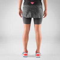 Preview: Glockner Ultra 2in1 Rock Damen - Laufrock mit Innenhose