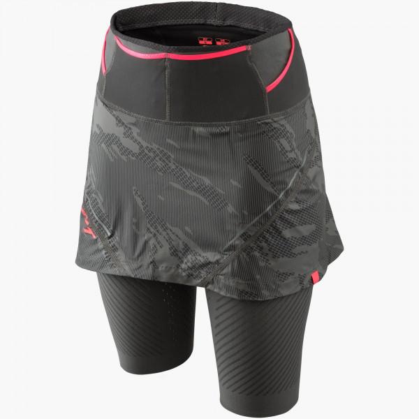 Glockner Ultra 2in1 Rock Damen - Laufrock mit Innenhose